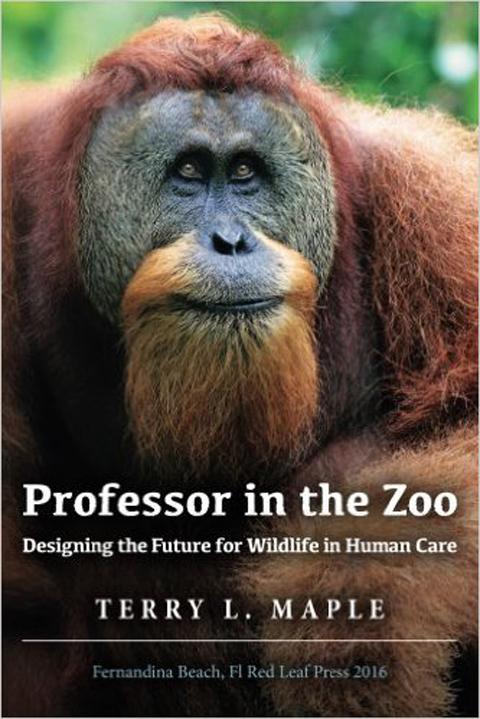 Professor in the Zoo book cover