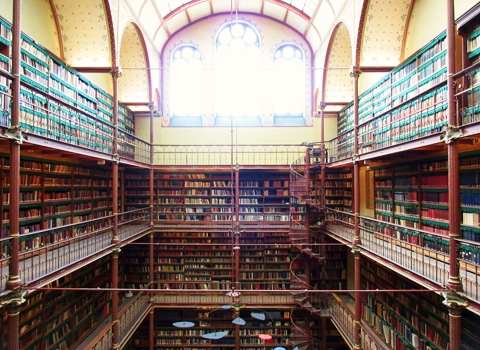 LibraryWithLight