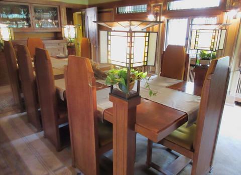 Frank Lloyd Wright interior